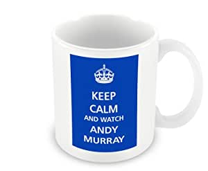 Keep Calm - And Watch Andy Murray / After 77 years Dunblane's home grown hero has won Wimbledon for the Brit's so now we can all keep calm for a while. Until the next time!.....better put the kettle on now
