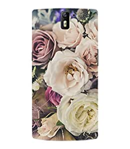 For OnePlus One Flower Case by Fusion Gear Hard Back Designer Case Cover for OnePlus 1