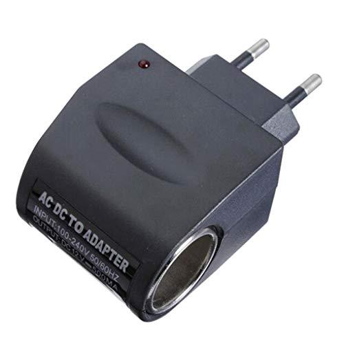 Busirde Haushalt Auto-Ladegerät Zigarre Zigarettenanzünder 110V-220V AC auf 12V DC Auto-Adapter-Konverter-Buchse (Buchse Und Stecker Kostüm)