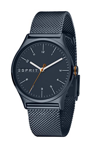 Esprit Damen Analog Quarz Uhr mit Edelstahl Armband ES1L034M0105