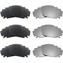 Revant Verres de rechange pour monture Oakley Racing Jacket Vented Asian  Fit6 Combo Pack de paires 1a0b62aa8faf