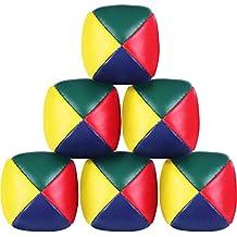 Beanbags Jongleur Ball onglierb/älle 3er-Set f/ür den Einsteiger Farben: Rot//Gelb//Blau//Gr/ün !! Weiche Jonglierb/älle Bean Bags 3x Jonglierball mit Beutel 4farbig Jonglierb/älle ca 48g