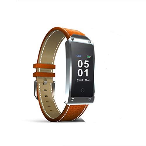 XJRHB GPS-Positionierung hob Armbanduhr Puls Smart Puls Smart Uhr (Farbe : Orange)