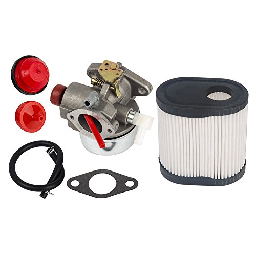 OuyFilters Replace Carburetor Carb kit for Tecumseh Toro Recycler Lawnmowers640350 640303 640271 20016 20017 20018 with Air Filter 36905 740083A TC-36905 LEV100 LEV115 LEV120 -