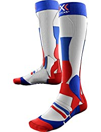 X-Socks Men's Xski Patriot Ski Socks, Men, X-SOCKS SKI PATRIOT