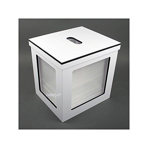 Faberplast fb478 - Caisse, blanc mat