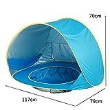 LuuBoes Baby Strand Zelt, tragbar, Pop-Up-Sonnenschutz, Kinderzelt, Pool – Leichter UV-Schutz