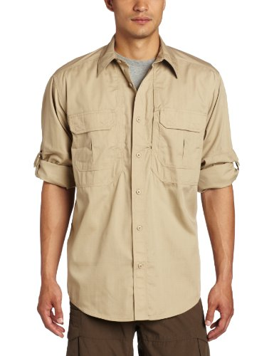 5.11 Tactical Series Taclite Pro Shirt Long Sleeve Chemise Homme, TDU Khaki, FR (Taille Fabricant : 2XL)