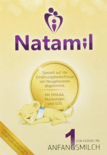 Natamil 1 Anfangsmilch, von Geburt an, 1er Pack (1 x 2400)