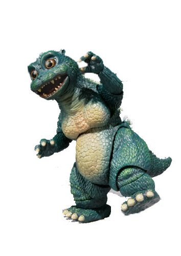 Bandai Little Godzilla und Crystal Set–S.H. MonsterArts (Godzilla Mothra Spielzeug)