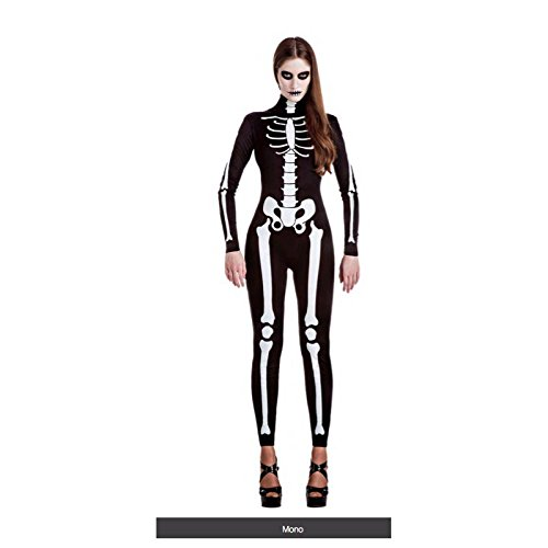 Imagen de disfraz esqueleto mujer talla xl