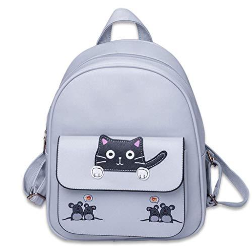 Yuany Rucksack Frauen 'S Nette Leder Mini Rucksack Casual wasserdichte Reiserucksack Teen Student Fashion Sporttasche