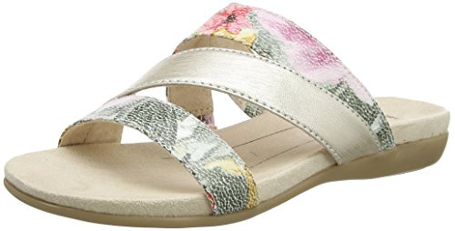 Softline 27161, Ciabatte Donna Marrone (Flower Comb. 908)