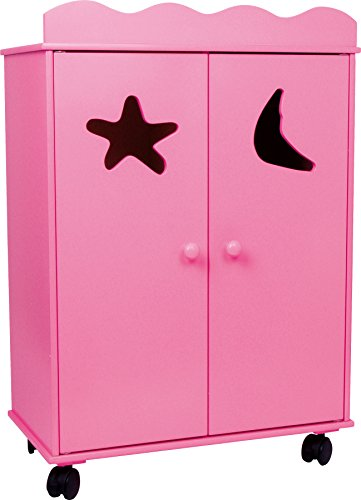 Small foot company - Legler Puppenschrank Pink