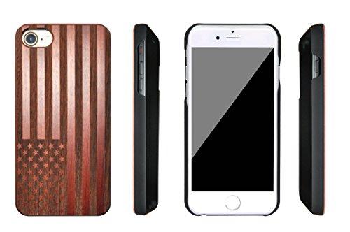 eimo iPhone 7 Housse en bois pour Apple iPhone 7 4.7'' -19 15