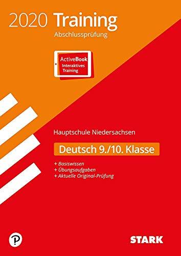 STARK Training Abschlussprüfung Hauptschule 2020 - Deutsch 9./10. Klasse - Niedersachsen: Ausgabe mit ActiveBook