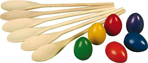 Kinder Gartenspiele Im Freien Klassisch Sport-tag Spiel Ei N' Löffel-rennen Ausrüstung