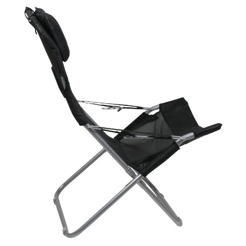 41lhbunf1gL. SS500  - 10T Maxi Chair - Camping chair, relax high back with head cushion, 4x adjustments, foldable