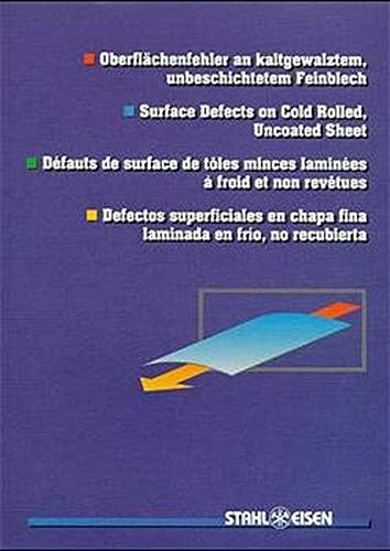 Surface Defects on Cold Rolled, Uncoated Sheet