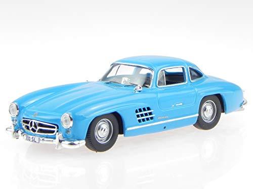 300 Pop-art (Collectibles Mercedes W198 300 SL Limited Edition Pop Art blau Modellauto 1:43)