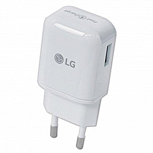 Modulares LG Handy Schnell Ladegerät 1,8 Ampere plus USB Datenkabel / Ladekabel für LG Mobiltelefone mit Micro USB Anschluss (Lg G E975)