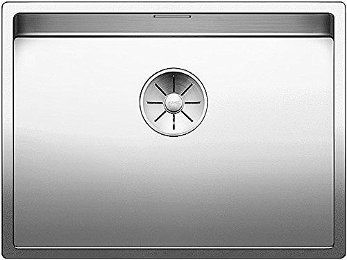 Preisvergleich Produktbild Blanco 521579 CLARON Küchenspüle 550-U Einbauspüle aus Edelstahl zum Unterbau für die Küche, Edelstahl Seidenglanz