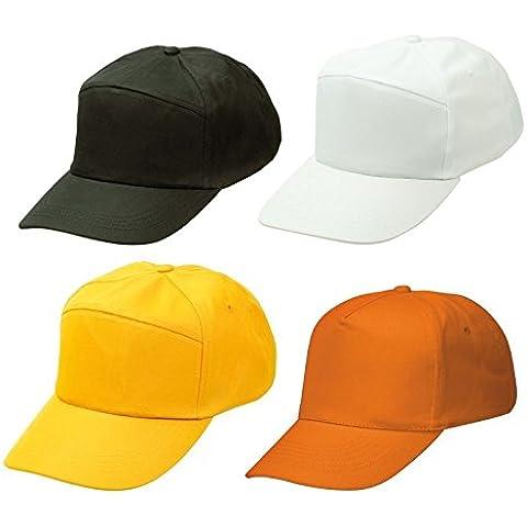 Cappellino Cappello Berretto Con Visiera Baseball Golf - UNICA, Giallo