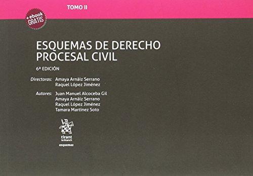 Tomo II Esquemas de Derecho Procesal Civil 6ª Edición 2018