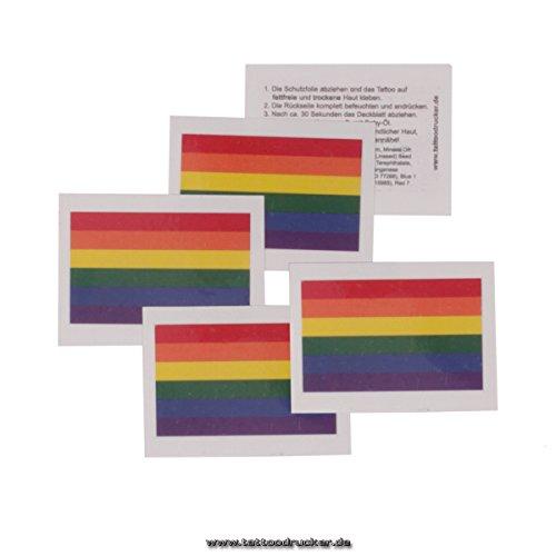 Regenbogen Tattoo Fahne - CSD Tattoo - LGBT Rainbow Pride Tattoo (10)
