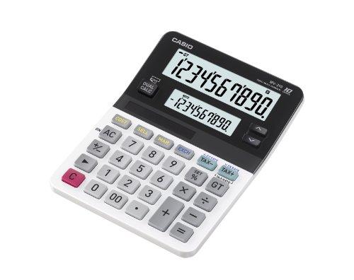 Galleria fotografica CASIO MV-210 calcolatrice da tavolo - Doppio display con 10 cifre ciascuno