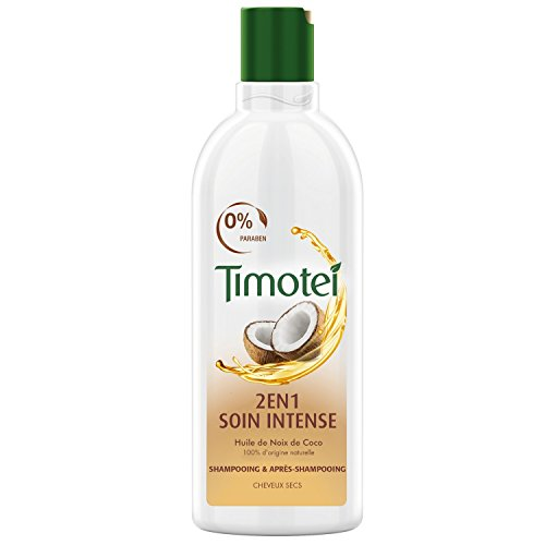 Timotei Shampoing 2 En 1 Soin Intense 300ml - Lot de 2
