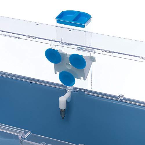 Ferplast 84676070 Nager-Trinkautomat SIPPY 8476 LARGE, Befestigung am Gitter oder an glatten Oberflächen, Inhalt: 600 ml - 4