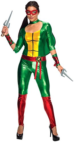 Green Jumpsuit Raphael L (Teenage Mutant Ninja Turtles Raphael Jumpsuit)