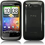 HTC DESIRE S GEL CASE / COVER / SHELL / SKIN - BLACK PART OF THE QUBITS ACCESSORIES RANGE PART OF THE QUBITS ACCESSORIES RANGE