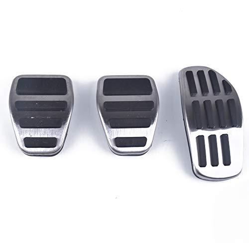 GLEETABANC Copri pastiglie Freno a Benzina in Acciaio Inossidabile AT MT, per Nissan Qashqai J11 2014-2018 X-Trail Rogue T32 calci 2019