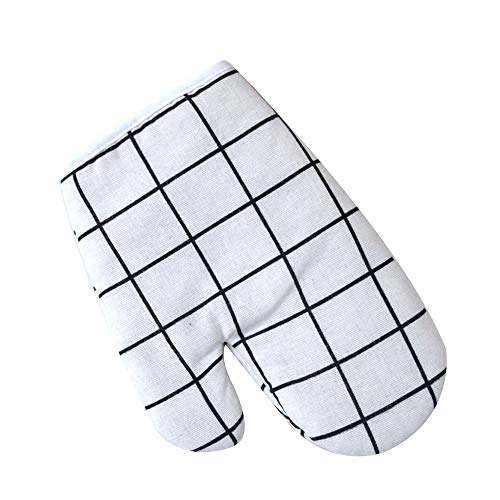ZWLCHSST 1 stücke küche Baumwolle ofen Handschuhe hitzebeständige Handschuhe antihaft rutschfeste Topf Halter Clip kochofen Handschuhe