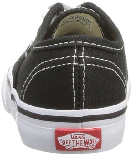 Vans T Authentic, Baskets mode mixte bébé Noir