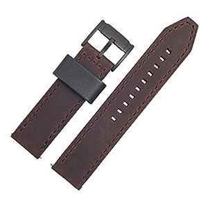 Fossil Uhrenarmband 22mm Leder Braun – FS-4656 | LB-FS4656