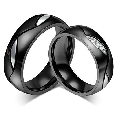 Xiangling  -  Sonstige  Edelstahl (Herren)     keine Angabe  Topaz Herzen Versprechen Ring