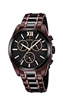 Festina Herren-Armbanduhr Chronograph Quarz Edelstahl beschichtet F16859/1