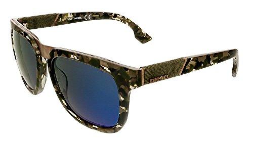 Diesel occhiali da sole dl0142_55x-54 (54 mm) grigio