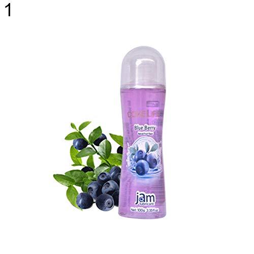 GSYClbf 100 g Lubricante corporal base agua sabor