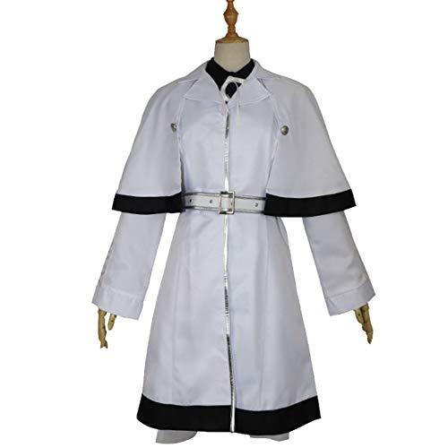 Kostüm Investigator - YKJ Anime Charaktere tragen weiße Investigator Windjacke Vollkostüm Halloween-Kostüm Anime-Kostüm Cosplay Anime-Kostüm,Full Set-XL
