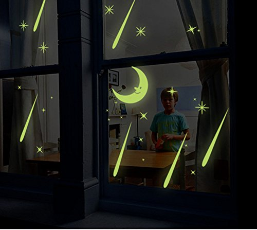 kids-bedroom-glow-in-the-dark-meteor-wall-celling-stickers-diy-wall-art-decal-luminous-wall-murals-f