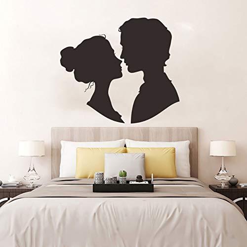 BHLTG Wandaufkleber Abnehmbare Vinyl Applique Kunstwand Valentinstag Home Decor Papier Parade Dekoration 30,5 cm * 27 cm