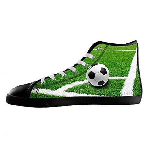 Custom Football SPORTS Mens Canvas Shoes Chaussures Lace Up High Top pour Sneakers Toile Chaussures de chaussures de toile chaussures de sport D
