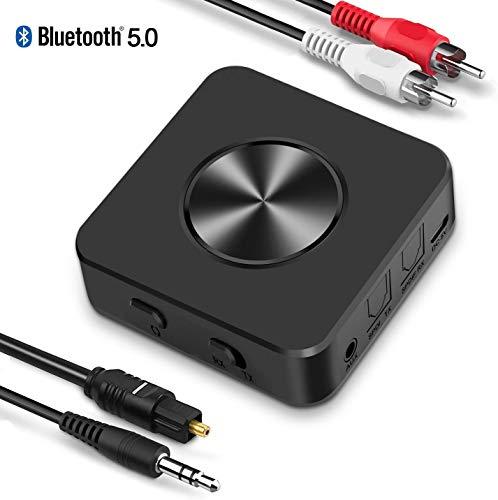 BTMAGIC Bluetooth 5.0 Sender Empfänger für TV AptX Wireless Audio Adapter mit geringer L