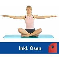 AIREX Matte Fitline 140 mit Ösen Gymnastik Matte Training Studio Workout aqua
