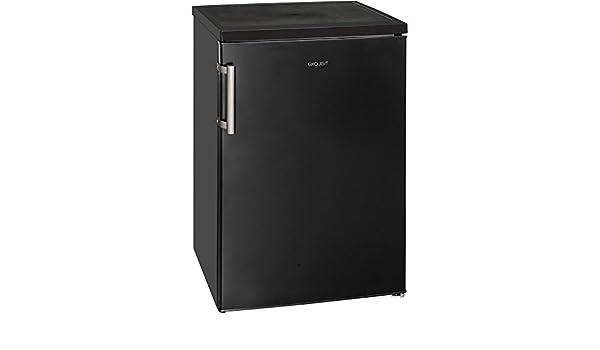Retro Kühlschrank 85 Cm : Exquisit ks a ms kühlschrank schwarz matt amazon