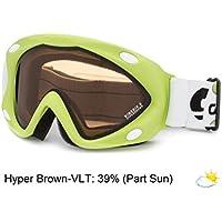 bb21ce5b9778f8 Carrera masque de ski kimerik pour enfant, vert mat avec logo puma taille  unique,